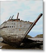 Bad Eddie's Boat Donegal Ireland Metal Print