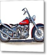 Bad To The Bone  Metal Print
