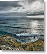Bad Weather Is Approaching Metal Print