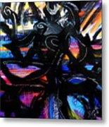 Badass Black Metal Print