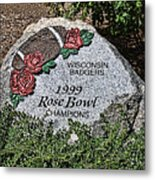 Badger Rose Bowl Win 1999 Metal Print