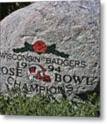 Badgers Rose Bowl Win 1994 Metal Print
