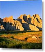 Badlands Buttes, South Dakota Metal Print