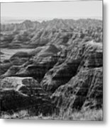 Badlands Of South Dakota #2 Metal Print