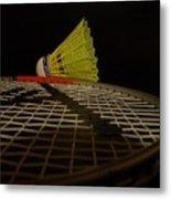 Badminton Metal Print