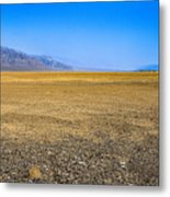 Badwater Basin In Death Valley Metal Print