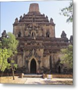 Bagan Sulamani Temple Metal Print