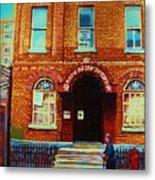 Bagg Street Synagogue Metal Print