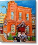 Bagg Street Synagogue Sabbath Metal Print