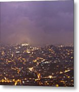 Baguio At Night Metal Print
