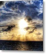 Bahama Sunset By Steve Ellenburg Metal Print