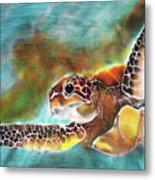 Bahamian Turtle Dove Metal Print