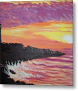 Bahia At Sunset Metal Print