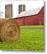 Bail And Barn Metal Print