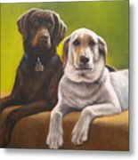 Bailey And Hershey Metal Print