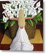 Baileyrae Lilies Metal Print