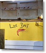 Bait Box Metal Print