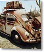 Baja Bug Metal Print