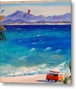 Baja Safari Metal Print