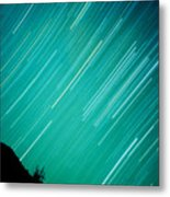 Baja Starry Night Metal Print