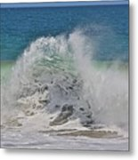 Baja Wave Metal Print
