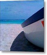Bajan Boat Metal Print