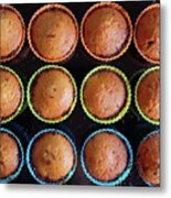Baked Cupcakes Metal Print