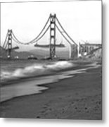 Baker Beach In Sf Metal Print