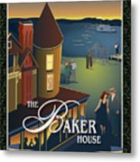 Baker House Endless Sunset Metal Print
