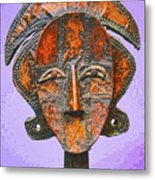 Bakota Reliquary Metal Print