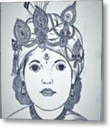 Bal Krishna Metal Print