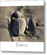 Balance Metal Print by Peter Tellone