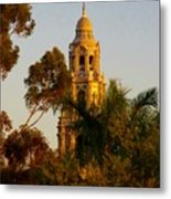 Balboa Park Bell Tower Orig. Metal Print