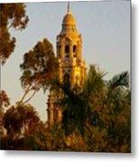 Balboa Park Bell Tower Metal Print
