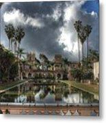 Balboa Park Fountain Metal Print