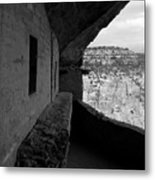 Balcony House Metal Print