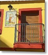 Spanish Balcony Metal Print