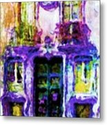 Balcony Of Poets Metal Print