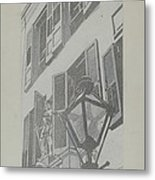 Balcony Railings Metal Print