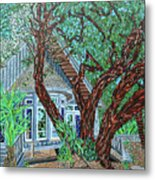 Bald Head Island, Village Chapel Metal Print