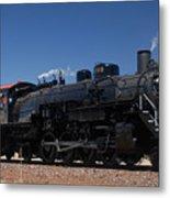 Baldwin Mikado 2-8-2 No 4960 Steam Locomotive Williams Arizona Metal Print