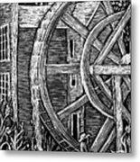 Bale Grist Mill Metal Print