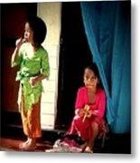 Bali Children Metal Print