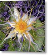 Bali Dream Flower Metal Print