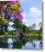 Bali Reflections Metal Print