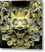 Bali Temple Art Metal Print