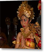 Balinese Dancer Metal Print