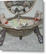 Ball And Claw Jacuzzi Metal Print