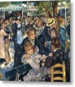 Ball At The Moulin De La Galette 1876 Metal Print