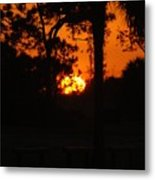 Ball Of Sun Metal Print